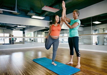 moms to be exercising