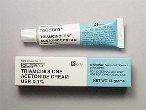 triamcinolone acetonide cream usp o 1