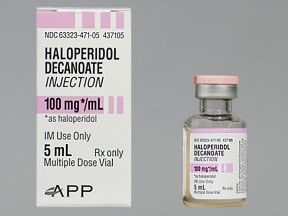 haloperidol decanoate and haloperidol