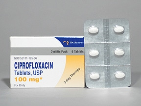 ciprofloxacin 500 mg tablet | Drug encyclopedia | Kaiser