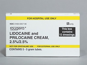 information lidocaine and prilocaine gel