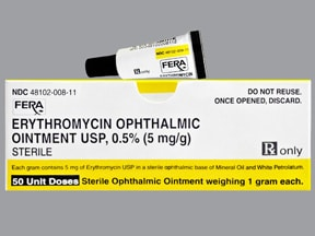 Erythromycin Ophthalmic Ointment Newborn