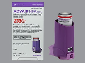 advair hfa directions