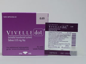 Vivelle-dot transdermal: uses, side effects, interactions.