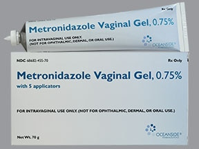 Yeast infection after metro gel vaginal