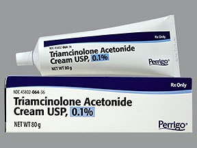 triamcinolone acetonide 0 1 % topical ointment | Drug