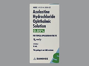Azelastine 0 05 Eye Drops Drug Encyclopedia Kaiser