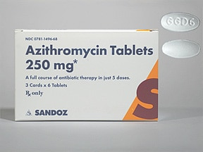 Xithrone azithromycin 500mg tablets