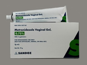 Is gel used vaginal for metronidazole what