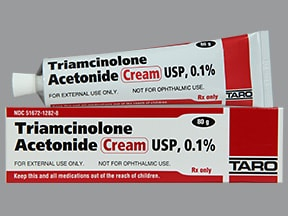triamcinolone acetonide cream for poison oak
