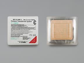 ... Photo of medication Photo of medication. fentanyl 87.5 mcg/hour  transdermal patch ...