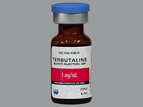 terbutaline 1 mg/ml subcutaneous solution | drug encyclopedia, Skeleton