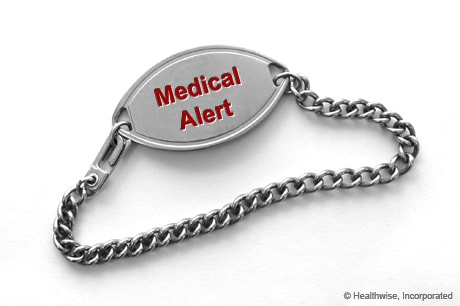 Health wellness kaiser permanente medical alert bracelet mozeypictures