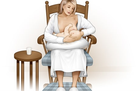 How to get ready to breastfeed